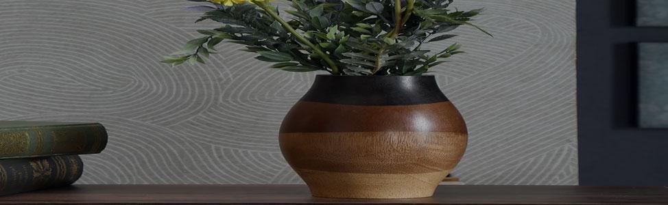 Wooden Flower Pots