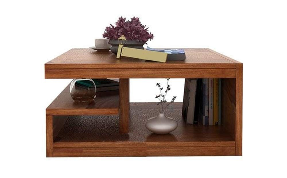 Naoshi Wood Center Coffee Table for Living Room Bedroom ...
