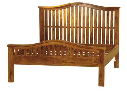 Travis Solid Wood Bed