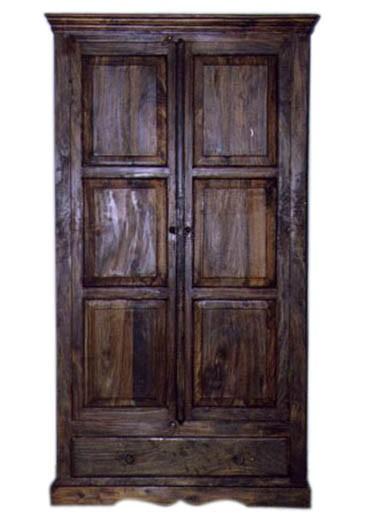 Vayaka Solid Wood 2 Door Wardrobe