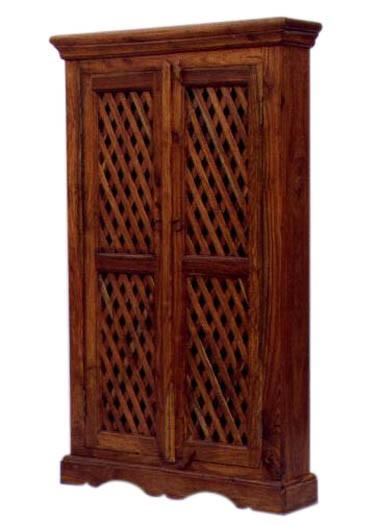Deux Solid Wood 2 Door Wardrobe