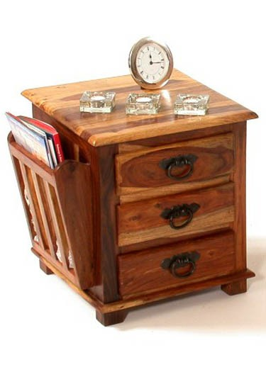 Nexo Solid Wood Night Stand