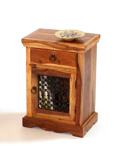 Jundee Solid Wood Night Stand