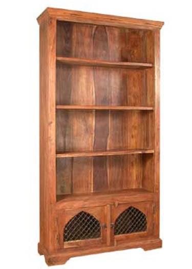 Oriel Solid Sheesham Wood Book Shelf