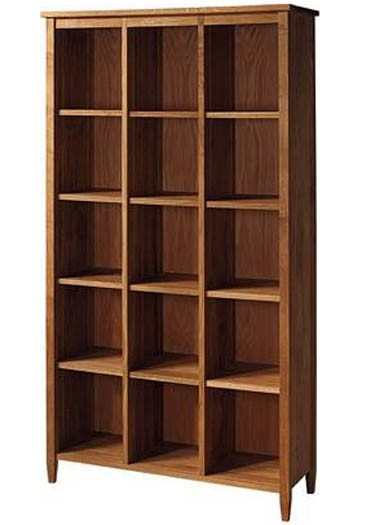 Solid Wood Book Shelf Abbey