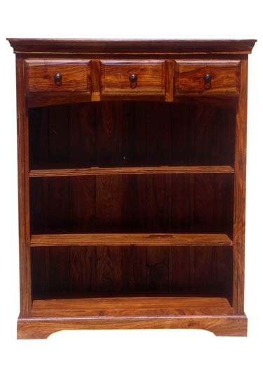 Gower Sheesham Wood Book Shelf