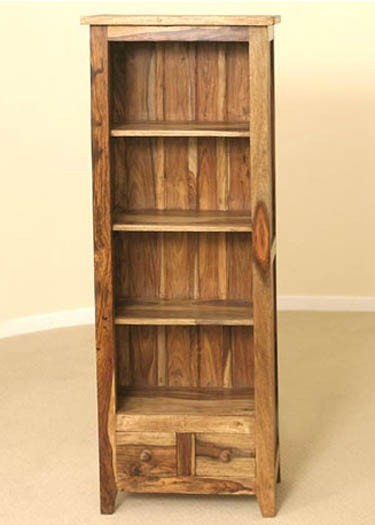 Oriel Solid Wood Book Shelf