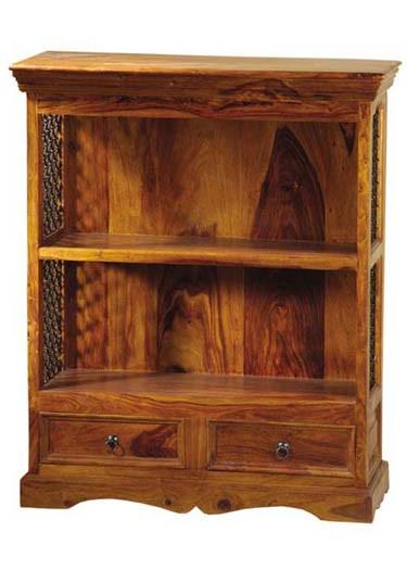 Gower Solid Wood Book Shelf
