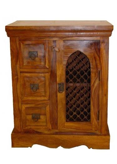 Stigen Sheesham Wood Cabinet