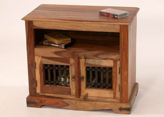 Melvina Solid Wood Tv Unit
