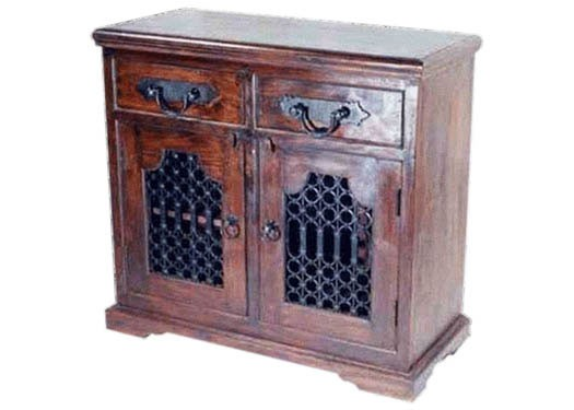 Carrock Sheesham Wood Small Tv Unit