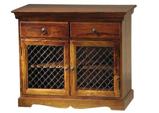 Delaila Solid Wood Tv Unit