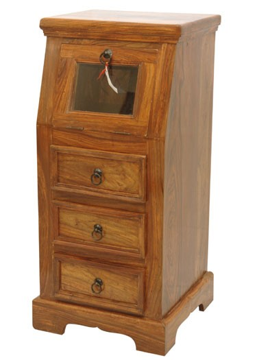 Astra Solid Sheesham Wood Drawer Chest