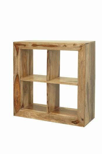 Enkel Solid Wood Bookshelf