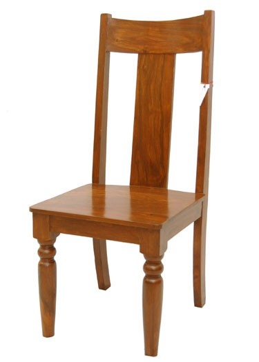 Honey Solid Wood Armchair