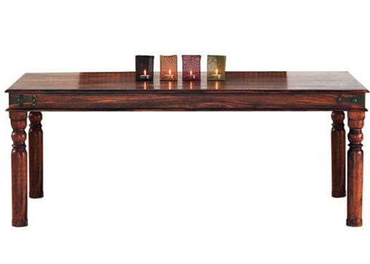 Mendes Solid Sheesham Wood Dining