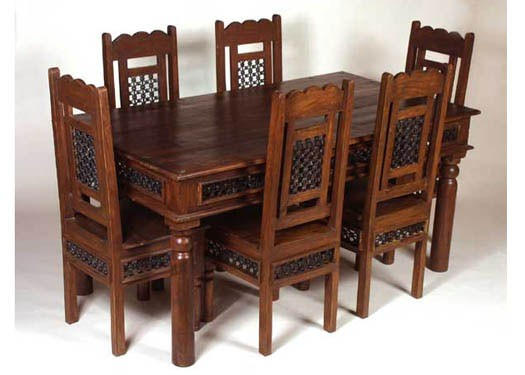 Carocrk Solide Sheesham Dining Table