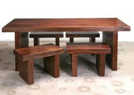 Carocrk Sheesham Dining Table