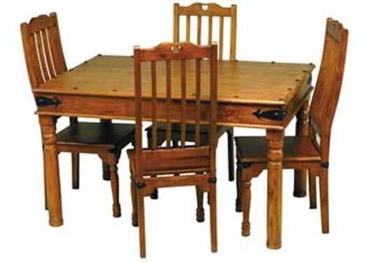 Reveka Sheesham Wood Dining Table