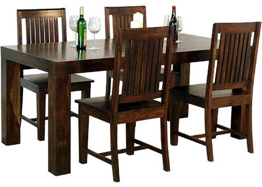 Warrican Extendable Sheesham Wood Dining Table