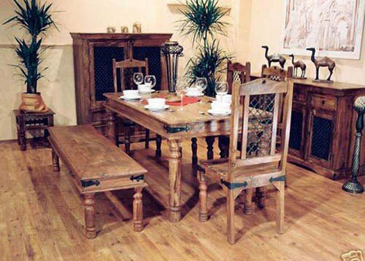 Jett Sheesham Wood Dining Table
