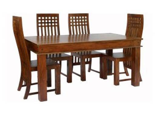 Wertex Sheesham Wood Dining Table