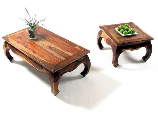 Oriel Sheesham Wood Nest of Tables