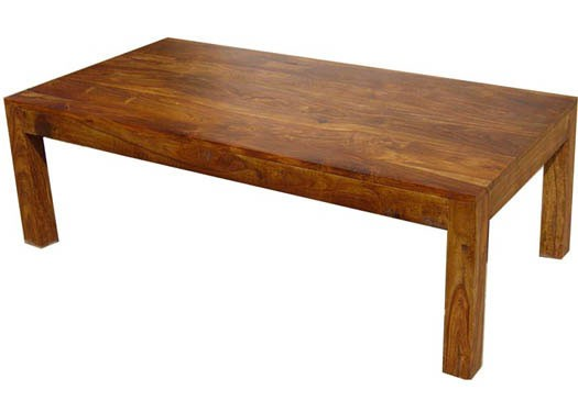 Lynet Coffee Solid Sheesham Wood Table