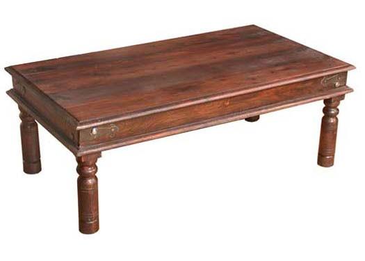 Enkel Sheesham Wood Nest of Tables