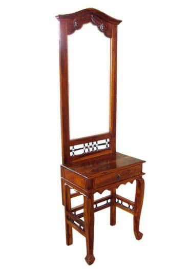 Clovis Sheesham Wood Cabinet