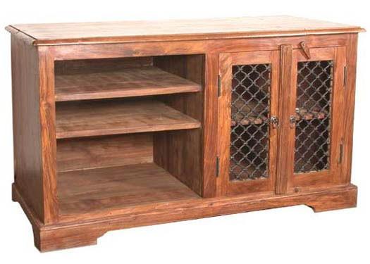 Allan Solid Sheesham Wood Sideboard