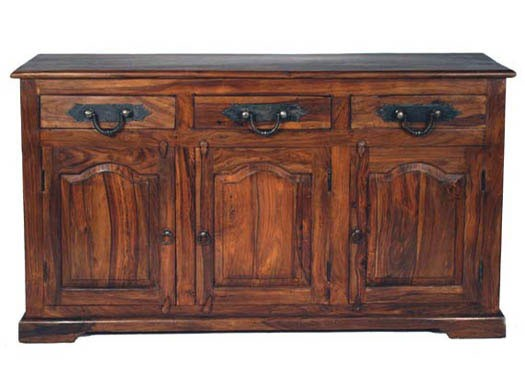 Vayaka Solid Wood Sideboard in Provincial