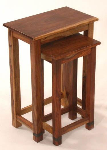 Enkel Solid Wood Nest of Tables