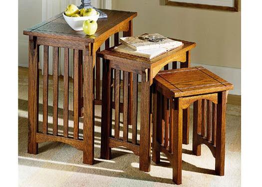 Stigen Solid Wood Nest of Tables