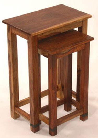 Acropolis Solid Wood Nest Tables