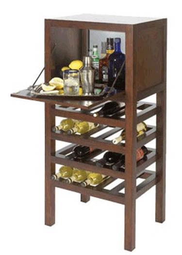 Octanol Bar Cabinet
