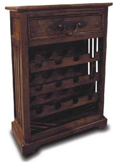 Wine Racks - Hamilton Solid Wood Bar