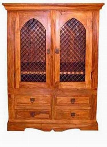 Segur Solid Wood Cabinet