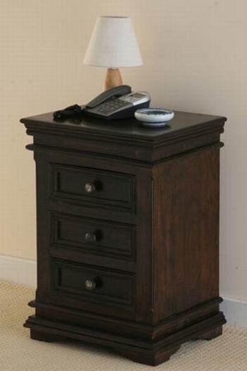Oriel Solid Wood Bedside Chest