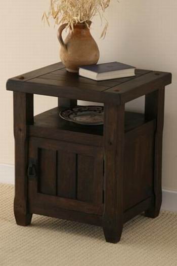 Louis Solid Wood Night Stand