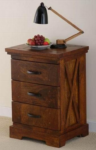Sheesham Wood Bedside Table