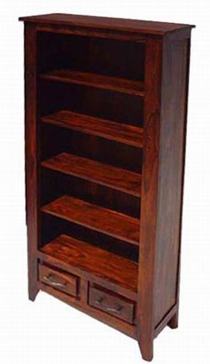 Segur Solid Sheesham  Wood Book Shelf