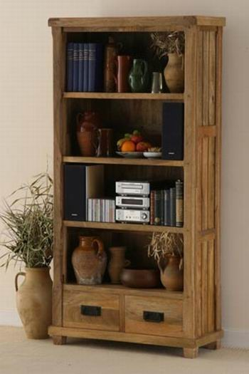 Eldrige Solid Wood Book Shelf