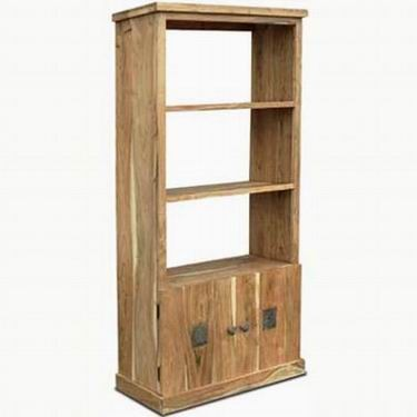 Blossom Solid Wood Book Shelf