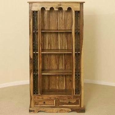 Malava Solid Wood Book Shelf
