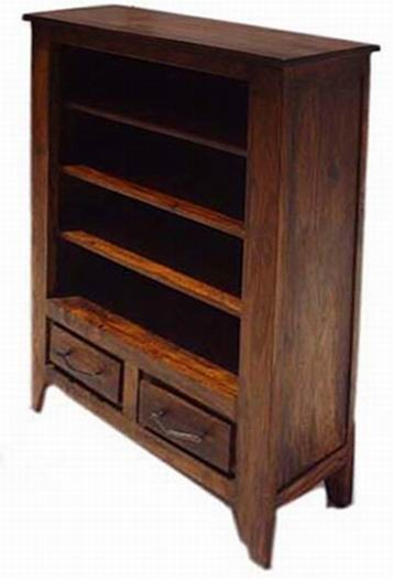 Vayaka Solid Wood Book Shelf
