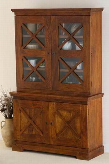 Darius Sheesham Wood Kitchen Cabinet