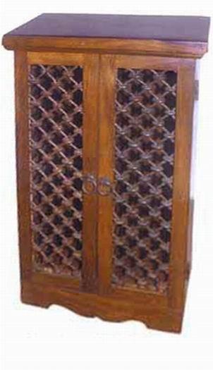 Aura Solid Sheesham Wood Cabinet