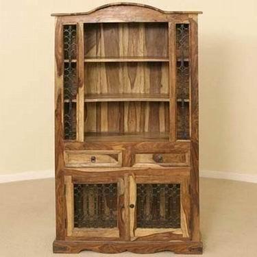 Williams Solide Sheesham Wood Kitchen Cabinet