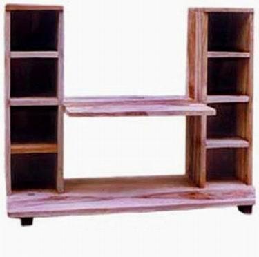 Lynton Solid Sheesham Wood Tv Unit